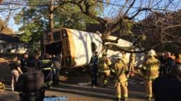 США: в аварии школьного автобуса погибли шестеро детей