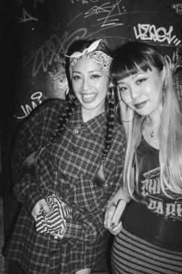 Mujeres de la subcultura chicana en japón