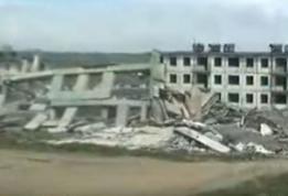 Edificio destrozado