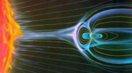 El sol y la magnetósfera de la Tierra