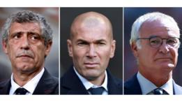 Santos, Zidane, Ranieri