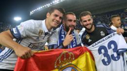 Morata, Carvajal y Nacho