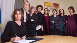 وزيرات في الحكومة السويدية