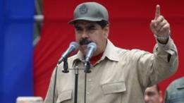 Nicolás Maduro habla en un acto el 17 de abril de 2017