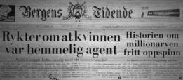Titular del 7 de diciembre de 1970 que dice: