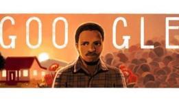 Ilustración de Steve Biko en Google