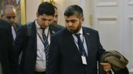 وفد المعارضة السورية المسلحة خلال الجولة الثانية من محادثات أستانة