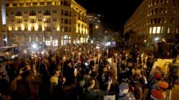 تجمع في بيروت للنشطاء المطالبين بتعديل قانون الانتخابات