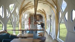 Interior del tren