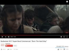 Comercial de Anheuser-Busch para el Super Bowl 2017