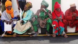 Hombres en Nigeria