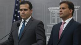 El gobernador de Puerto Rico, Ricardo Rosselló