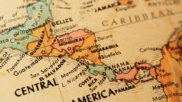 Mapa de Centroamérica