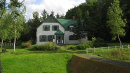 La casa de Green Gables en Hokkaido.