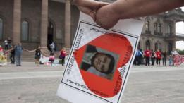 Fotografía de un desaparecido