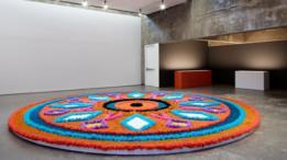 Obra de Jill Magid en el San Francisco Art Institute en 2016.