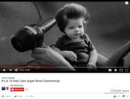 Comercial de 10 Hair Care para el Super Bowl