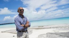 Presidente de EE.UU. en el atolón de Kure.