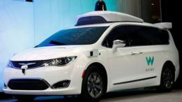 سيارة وايمو التابعة لشركة غوغل