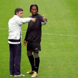 Mourinho y Drogba