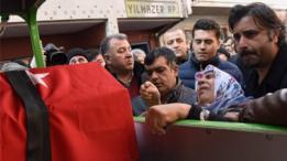 والدة حارس الأمن التركي