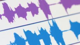 Audio trace