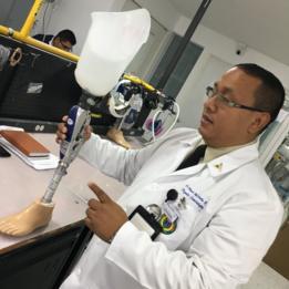 El coronel Héctor Orjuela