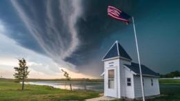 Un eco en arco que amenaza a Dakota del Sur