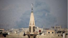 حي جوبر على أطراف دمشق