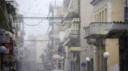 عاصفة في اوروبا