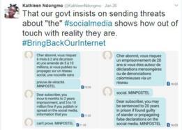 protestas en Twitter