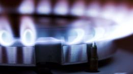Una cocina a gas