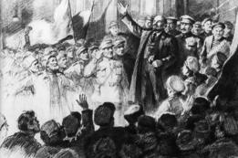 Lenin declamando