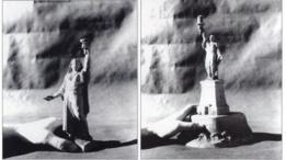 Algunas de las maquetas de Bartholdi para