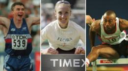 Jonathan Edwards, Paula Radcliffe, Colin Jackson