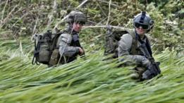 Soldados colombianos en Guaviare