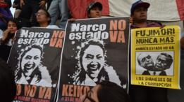Protestas contra Keiko Fujimori