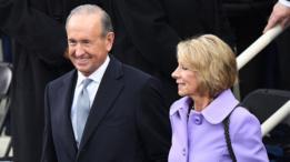 Dick y Betsy DeVos