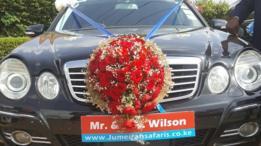 سيارة فاخرة لحفل زفاف ويلسون وآن موتورا