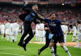 Mourinho y Materazzi