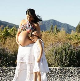 Mujer en embarazo.