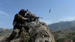 Militar afgano en la provincia de Nangarhar