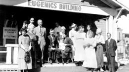 Concurso de la familia más apta en Kansas en los años 20