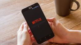 Netflix en un teléfono
