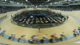 Prueba del mundial de ciclismo