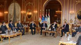 قادة ليبيون يتوصلون لاتفاق في القاهرة على إجراء انتخابات بحلول فبراير 2018