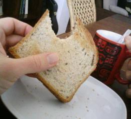 Una tajada de pan