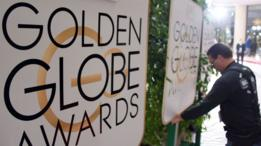 Golden Globes signs