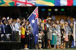 Ceremonia de ciudadania en Australia.