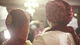 Pareja en una boda